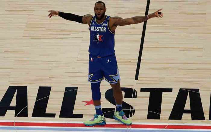 LeBron James 2020 NBA All-Star Game Nike LeBron 17 Mr.Swackhammer