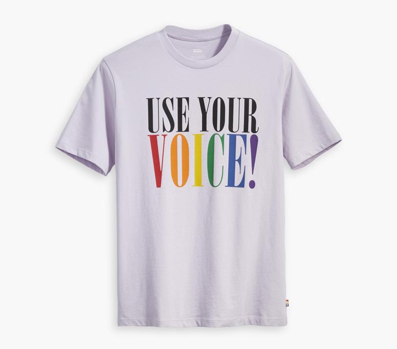 Levi's, pride month, t shirt