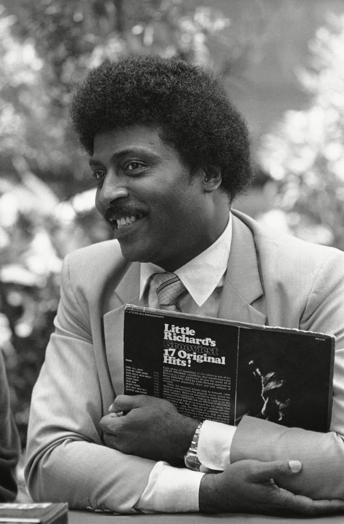 little richard, press conference, 1981