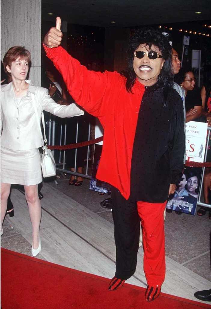 little richard, why do fools fall in love, black, red, premiere, 1998