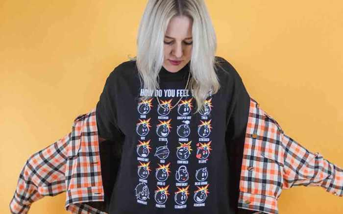 The Hundreds x Liz Beecroft Adam Feelings T-shirt