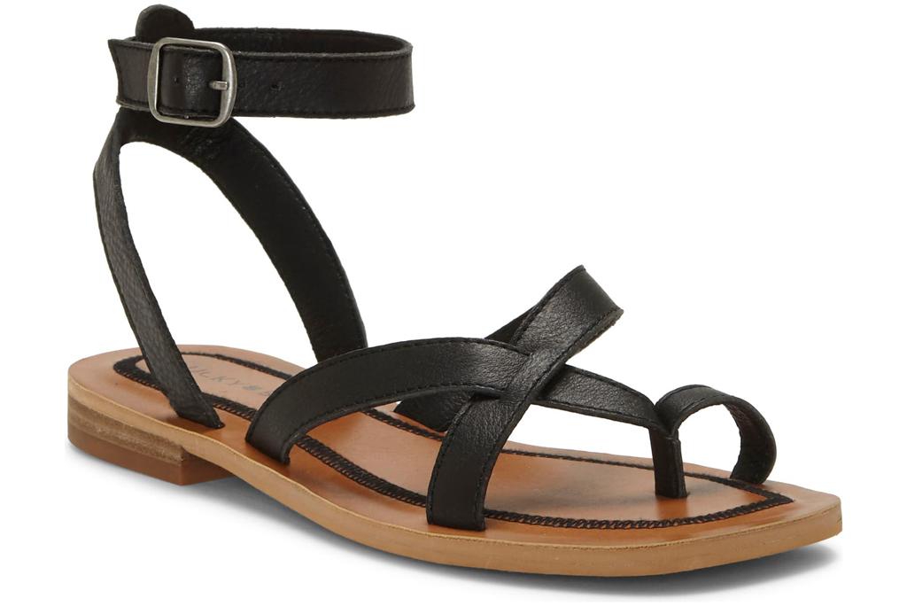 Lucky Brand, toe ring sandal