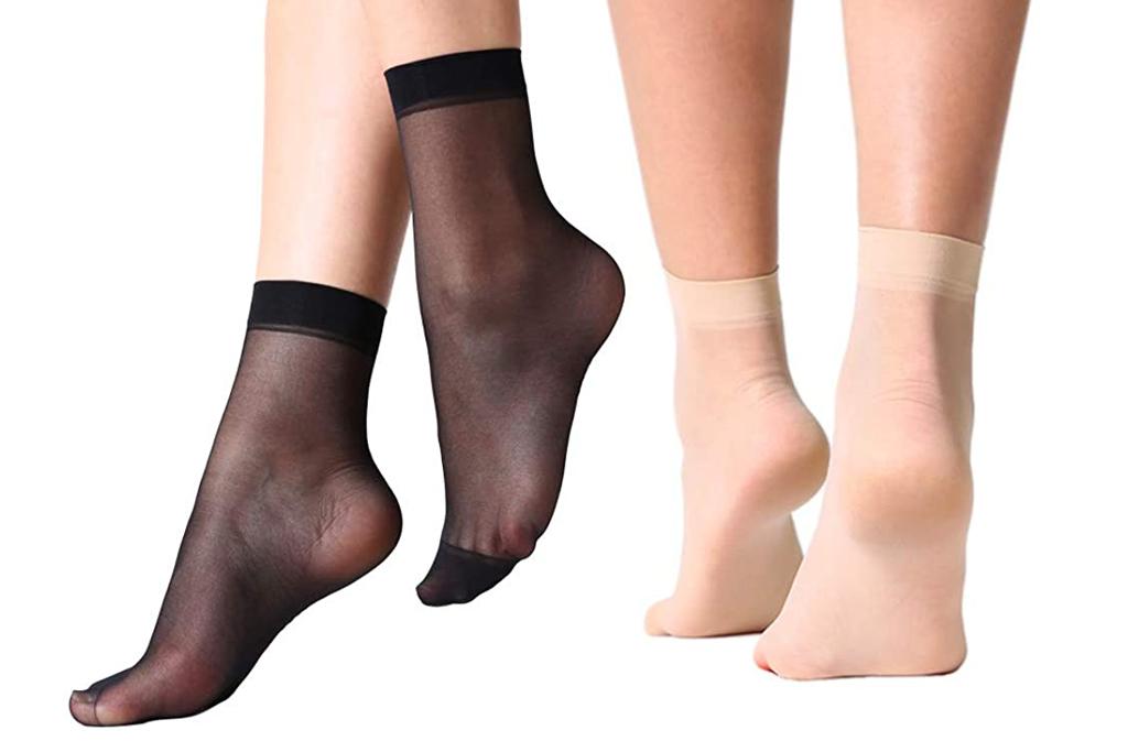 manzi, sheer socks