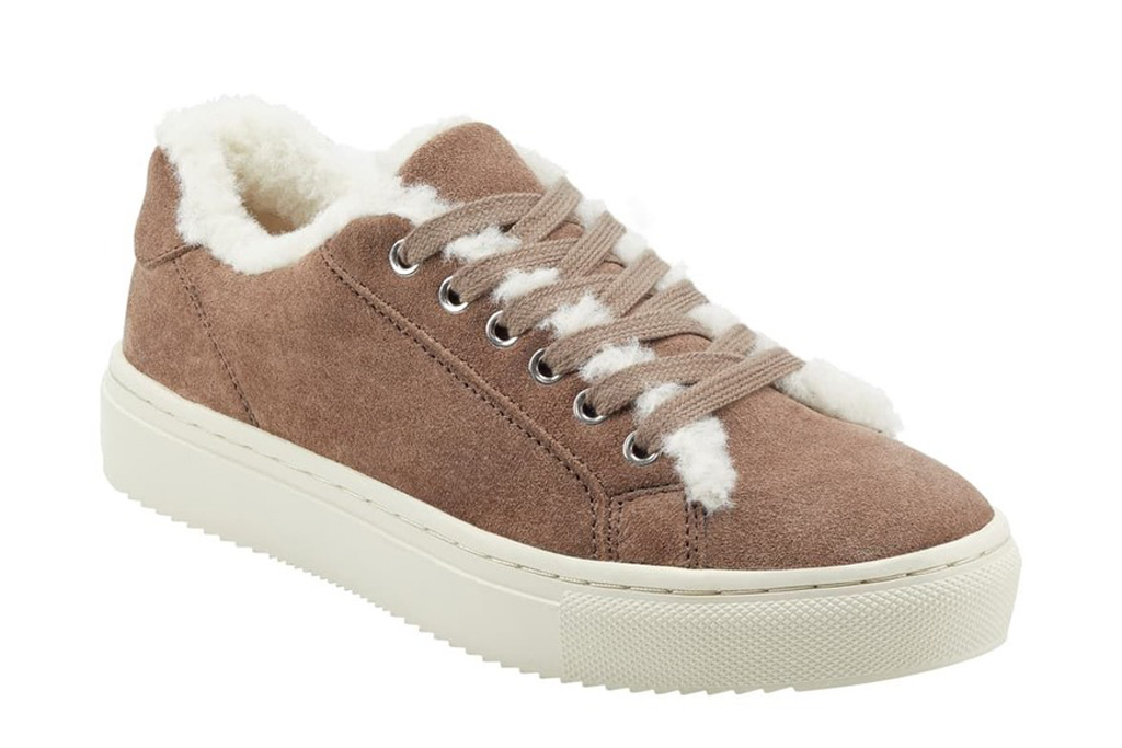 Marc Fisher Ltd, shearling sneakers