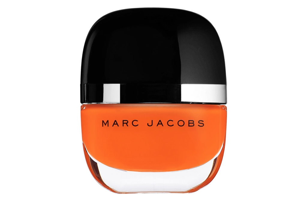 marc jacobs, nail polish, orange