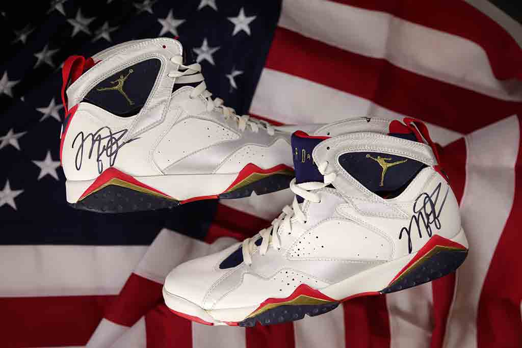 Michael Jordan's Signed Dream Team Olympic Sneakers Are Up for ...