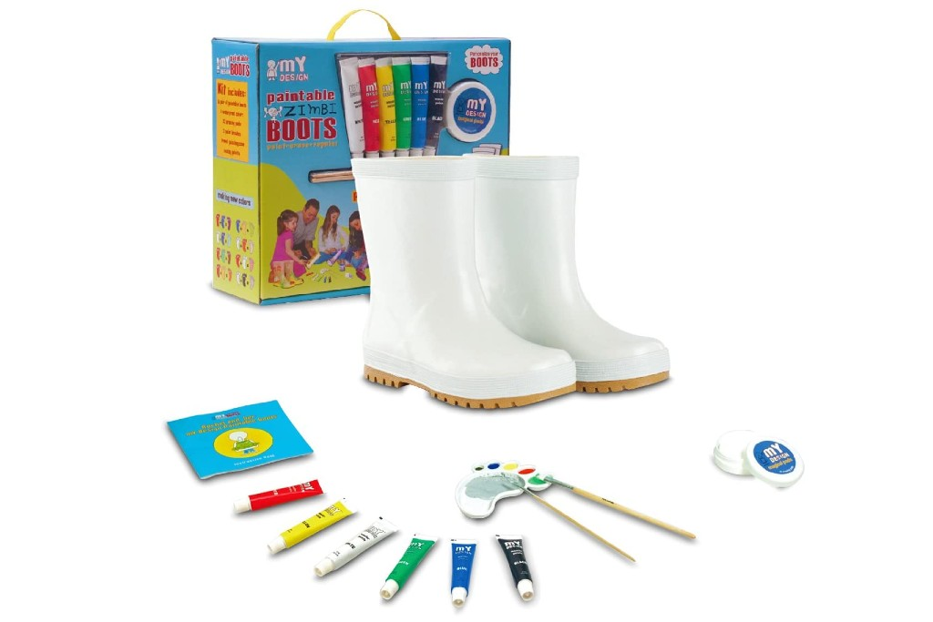 my design paintable boots kit