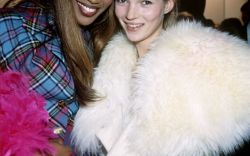 With Kate Moss