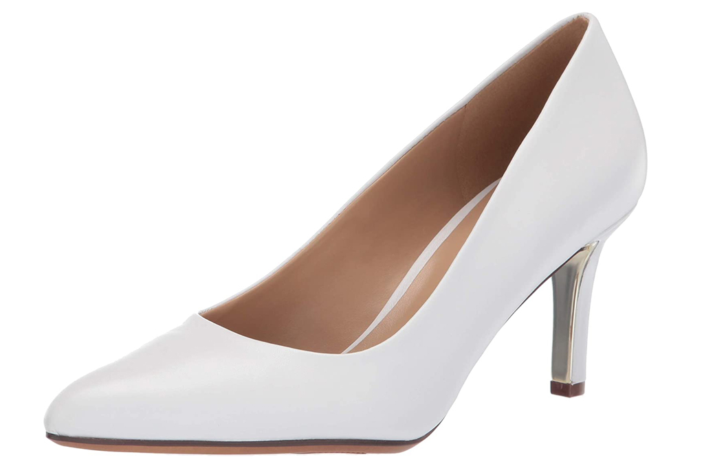 naturalizer, white pumps