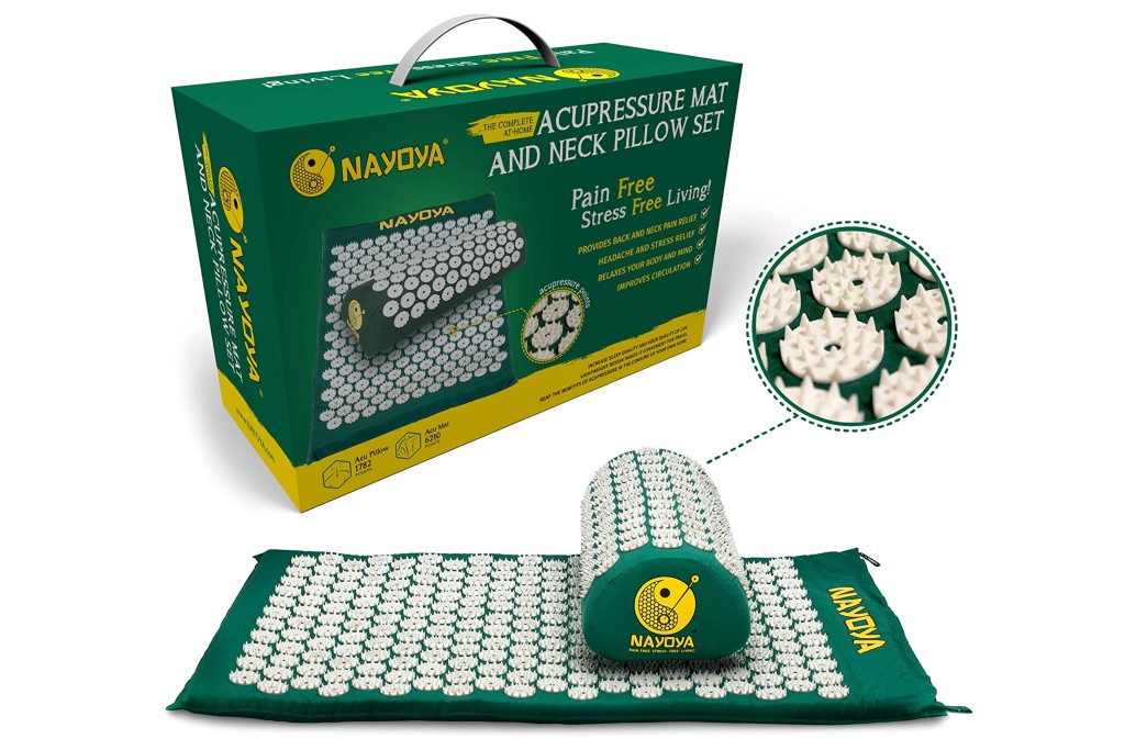 Nayoya Acupressure Mat and Neck Pillow Set