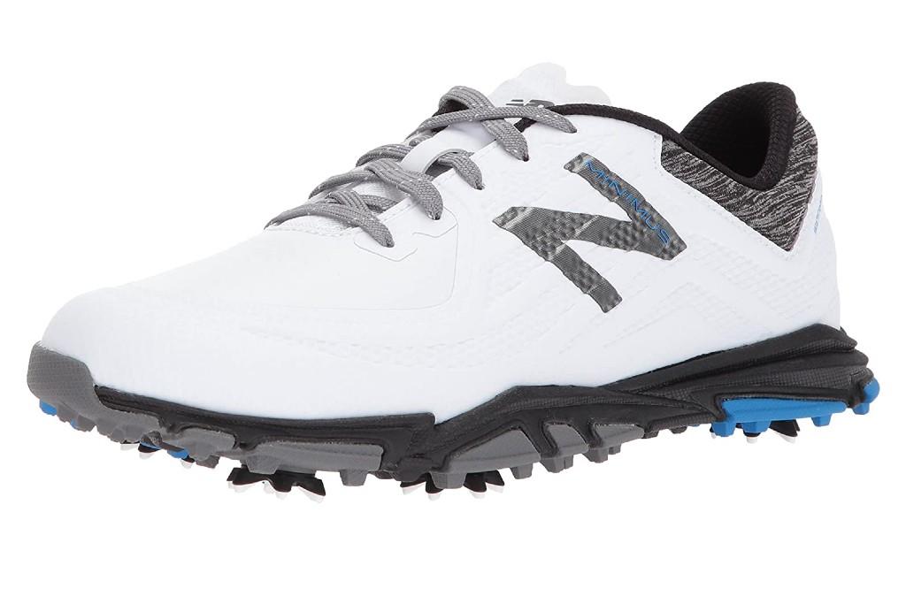 New Balance Men's Minimus Tour Waterproof Spiked Comfort Golf Shoe