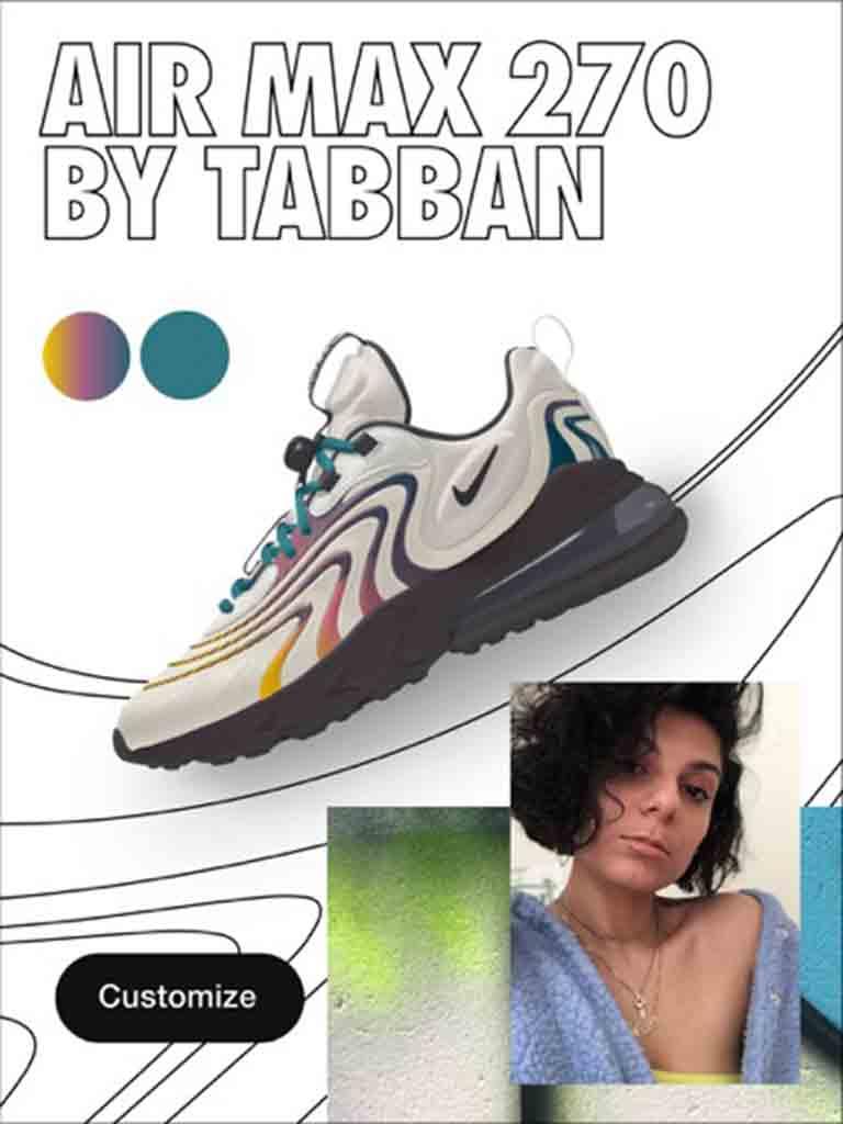 Nike Air Max 270 by Tabban