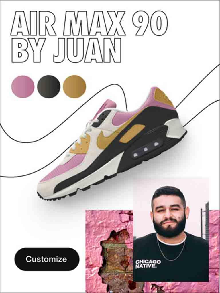 Nike Air Max 90 by Juan