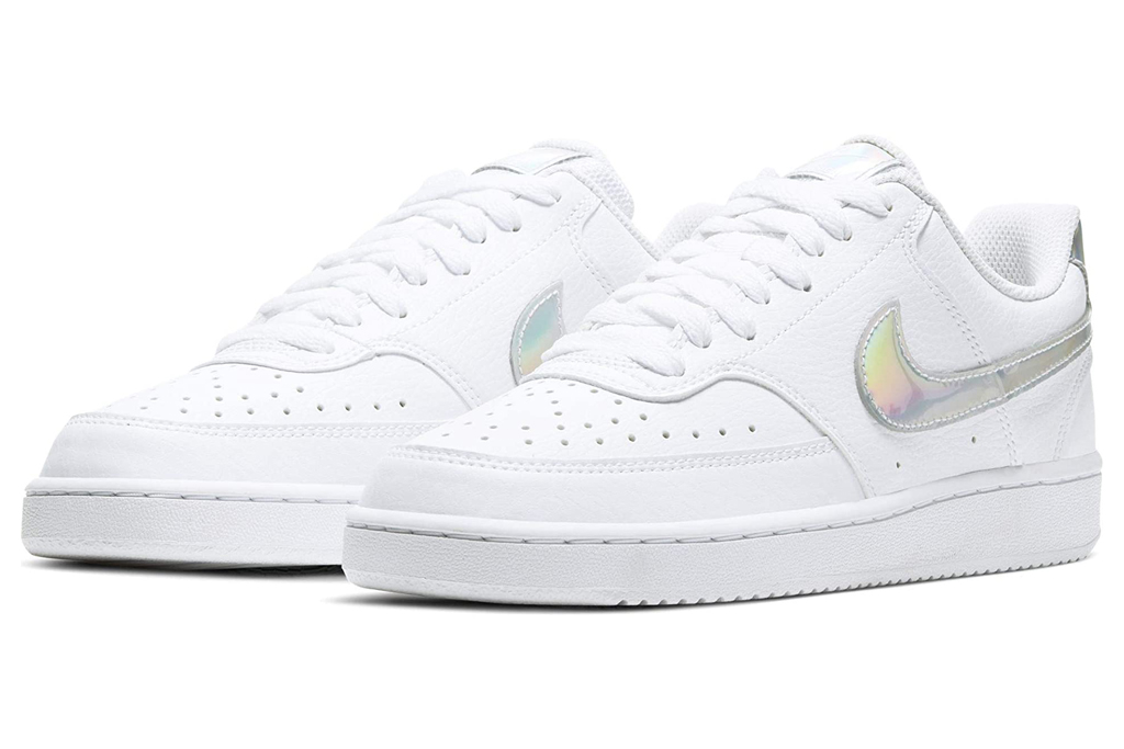 nike, holographic, sneakers