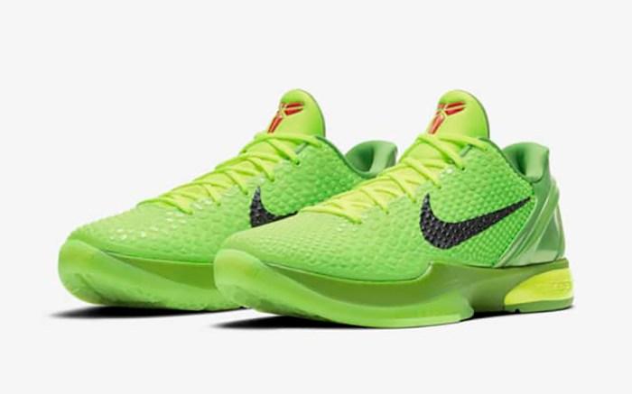 Nike Kobe 6 Protro Green Apple Grinch