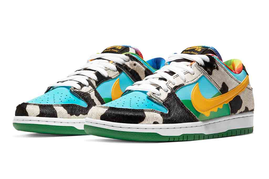 Ben & Jerry's x Nike SB Dunk Low 'Chunky Dunky': Resale Info ...