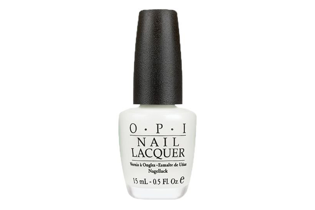 opi, nail polish, white