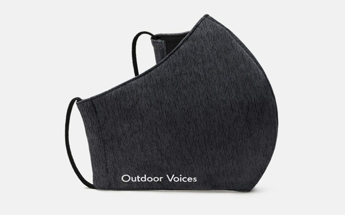 outdoor voices, face masks