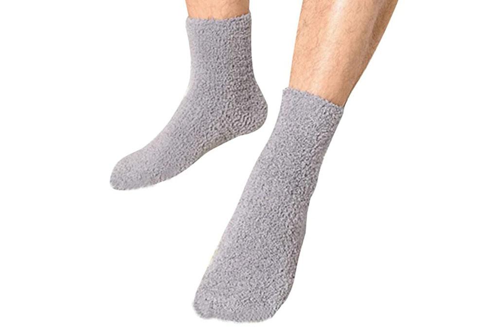 ovov, fleece socks