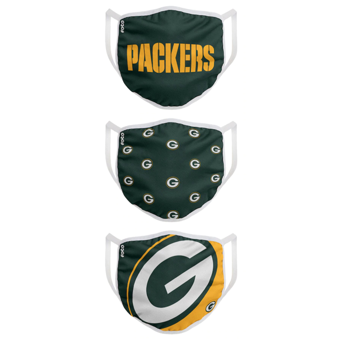 green bay, packers, face masks, nfl