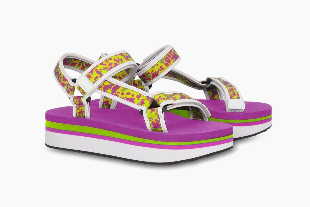 tanya taylor, tanya taylor teva sandal, tanya taylor sandals