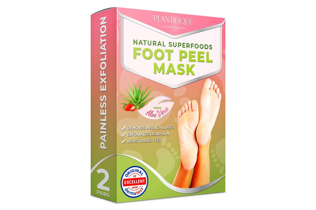 plantifique, foot peel, mask