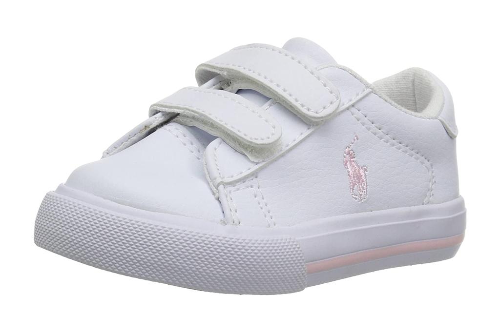 polo ralph lauren, kids, sneakers, white, toddler