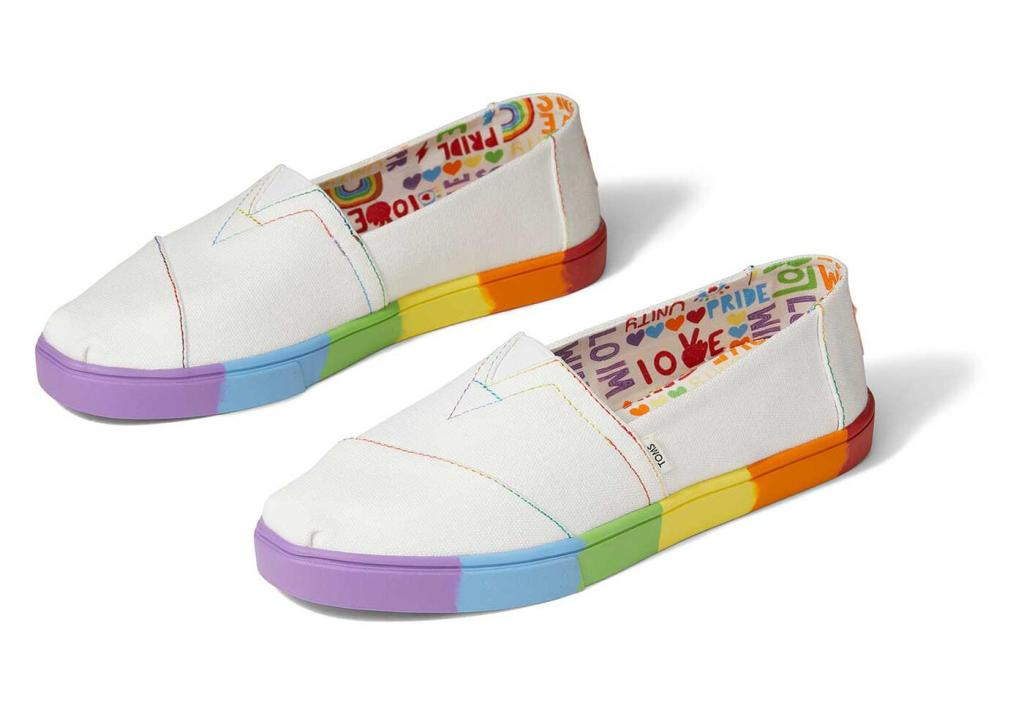 toms unity pride collection 2021 shoes