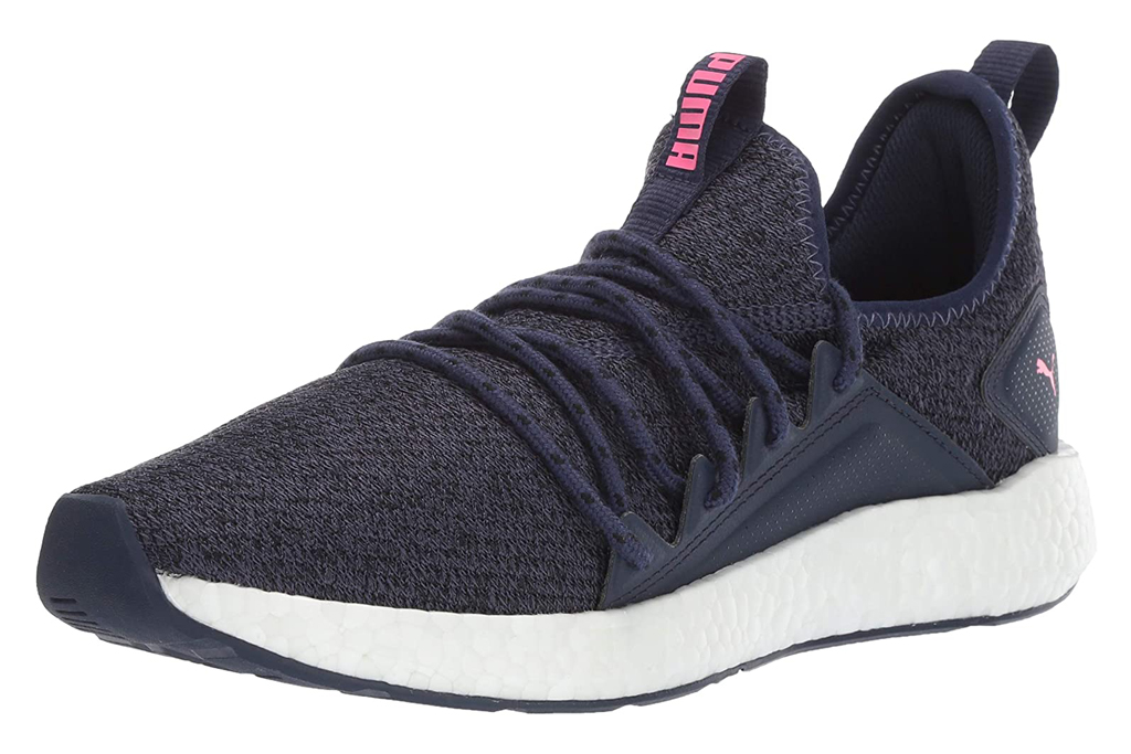 puma, nrgy, knit sneakers