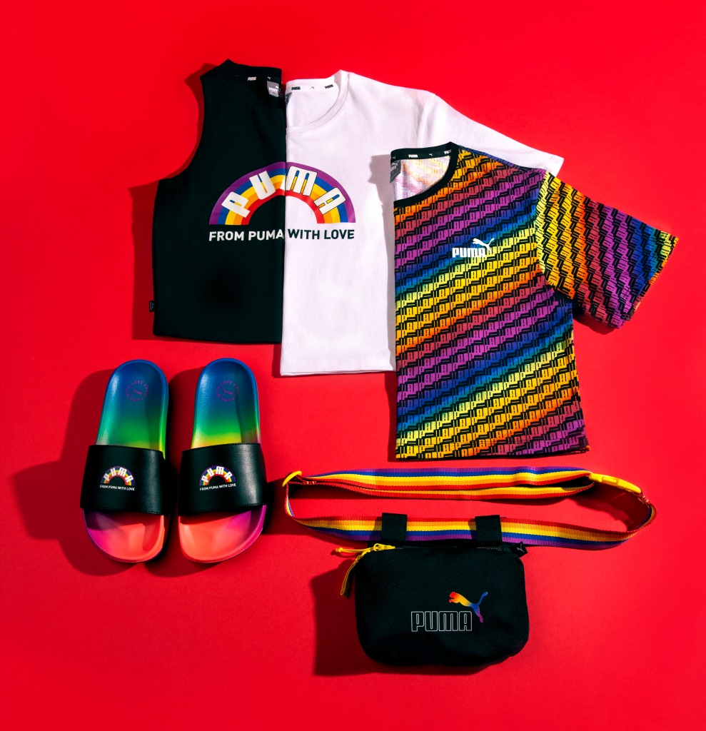 puma, pride, 2020, rainbow, from puma with love, collection, cara delevingne, lgbtq