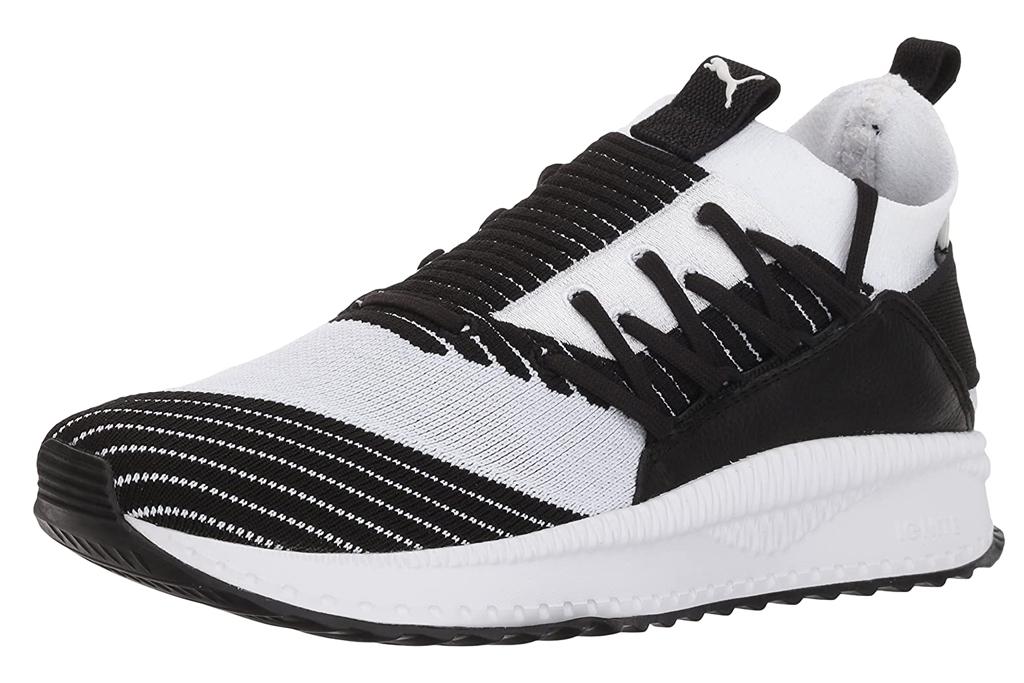 puma, sneakers, black, white