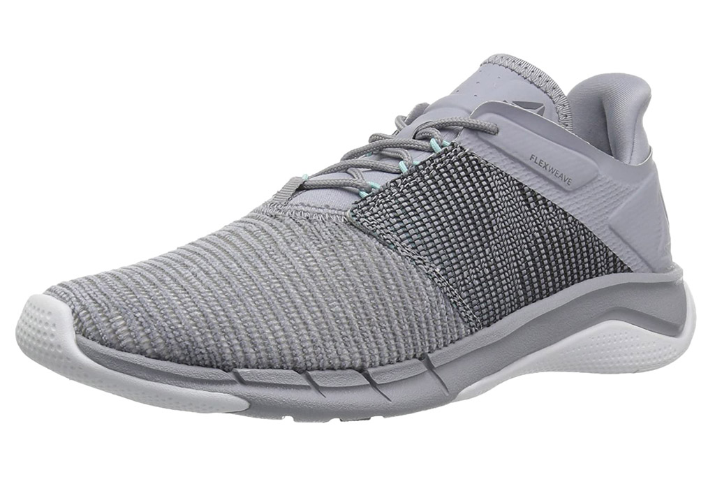 reebok sneakers, gray