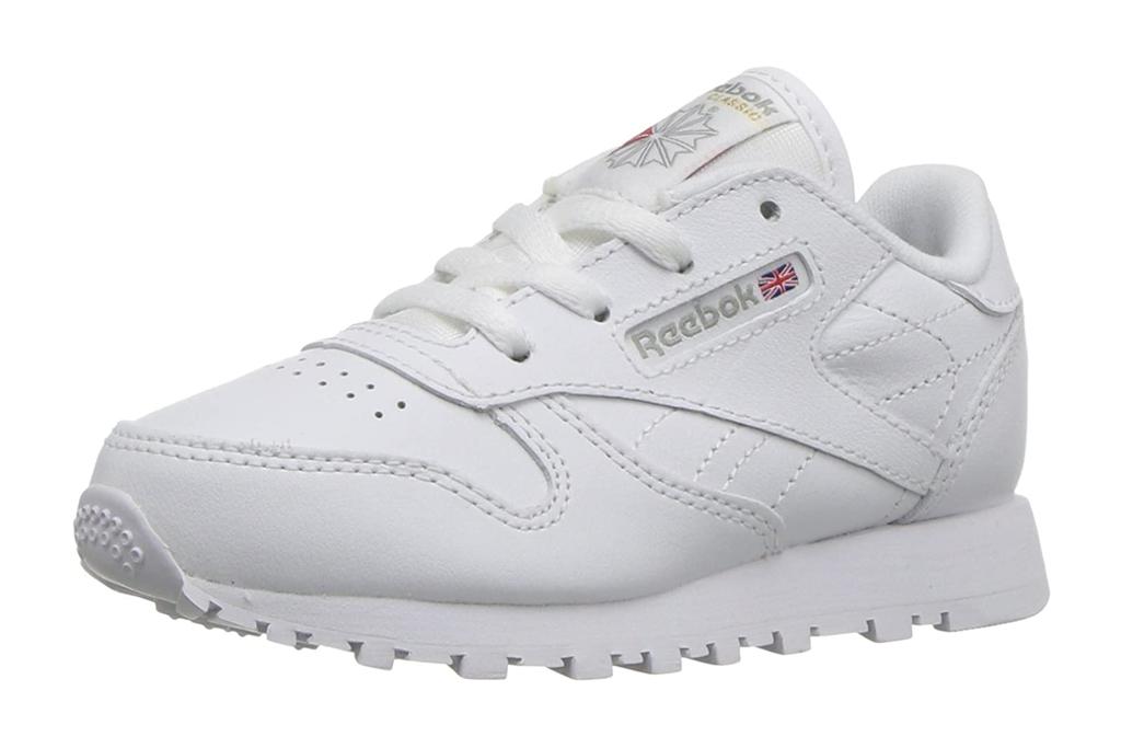 reebok, girls, toddler, sneakers, white