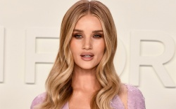rosie huntington-whiteley, style, blonde, dress