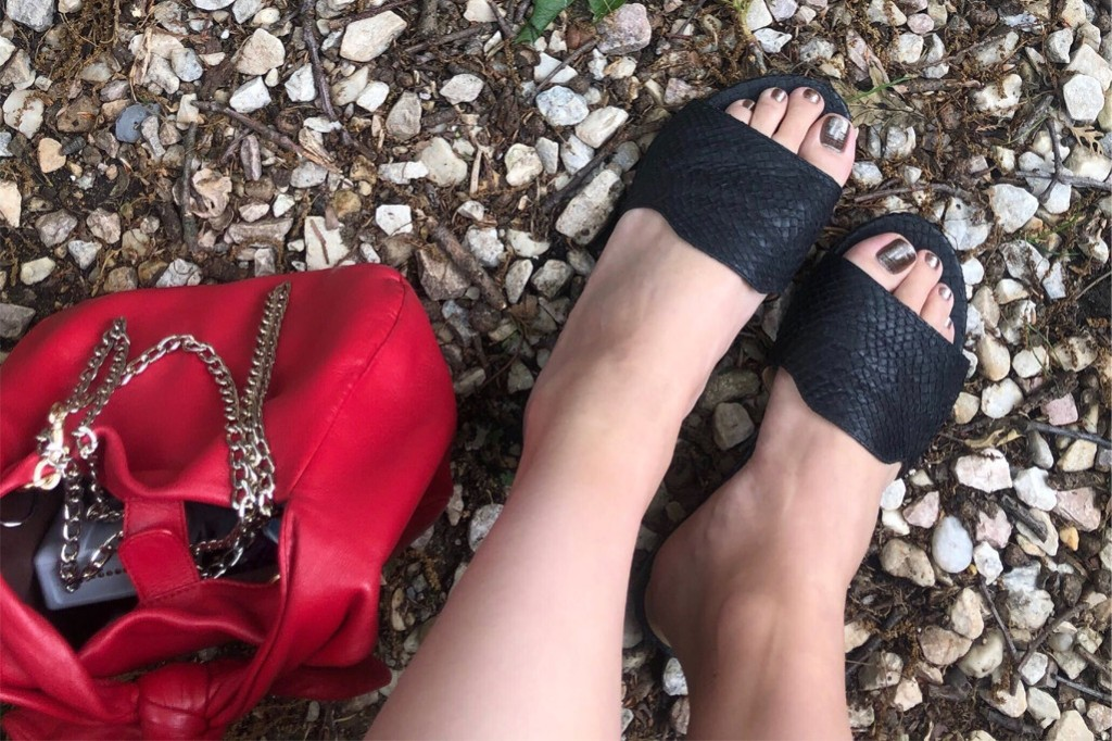 The Josefina in Fishscale Sandal from Nayla, fish scale sandals, sustainable shoes