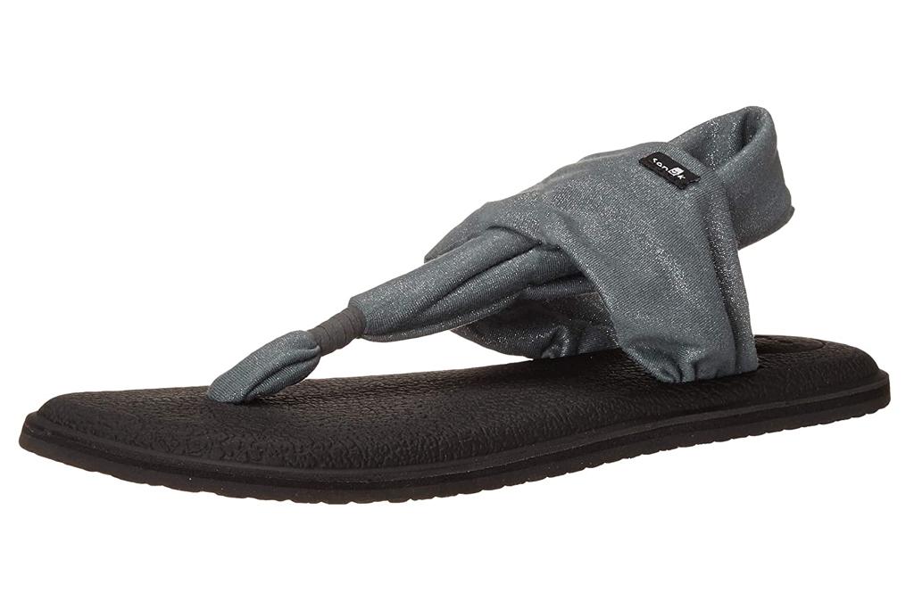 sanuk, sandals, yoga
