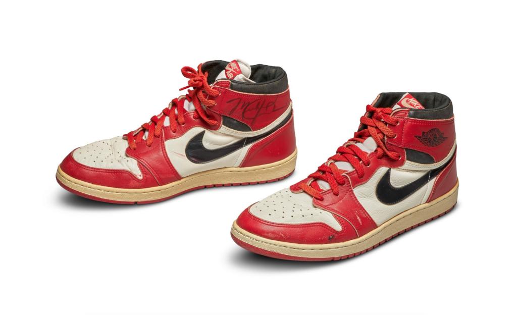 Michael Jordan Nike Sneakers From 1985