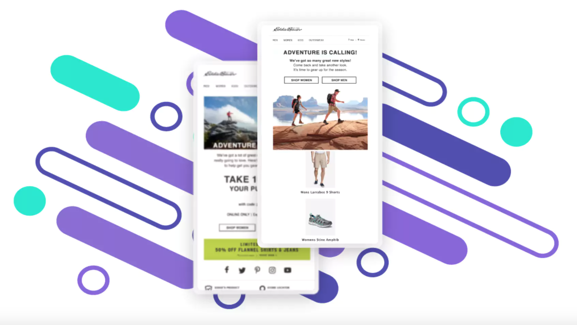 Screenshot of SmarterHQ powered marketing campaign