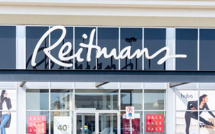 Reitmans, bankrupt