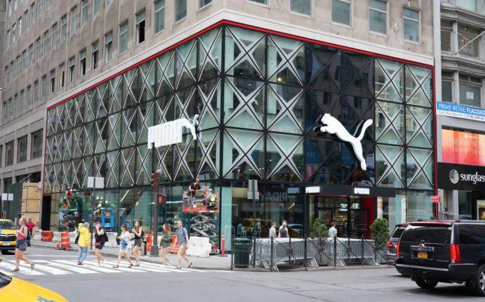 Atmosphere Puma Store, Fifth Avenue, New York, USA - 28 Aug 2019