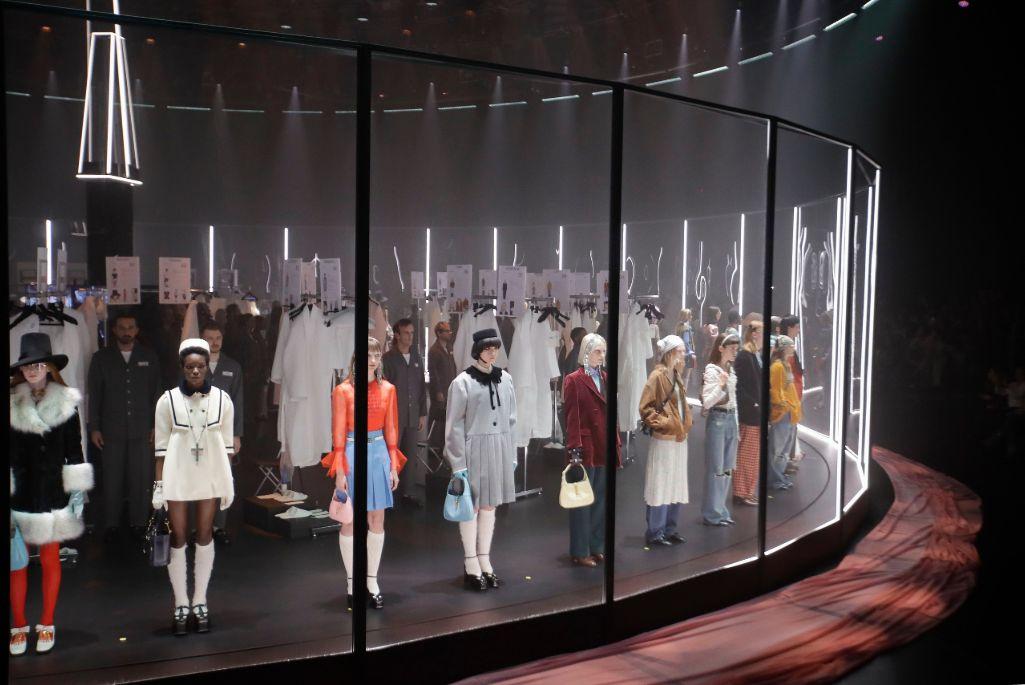 Gucci fall 2020 show during Milan Fashion Week.