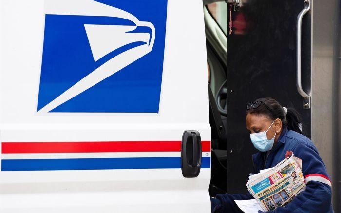 U.S. Postal Service mail carrier