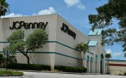 JC Penney store that was temporarily