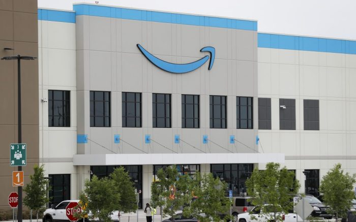 Newly constructed Amazon fulfillment facility is shown in Dallas, . Amazon has begun hiring for positions at the facilityVirus Outbreak Texas Amazon, Dallas, United States - 20 May 2020