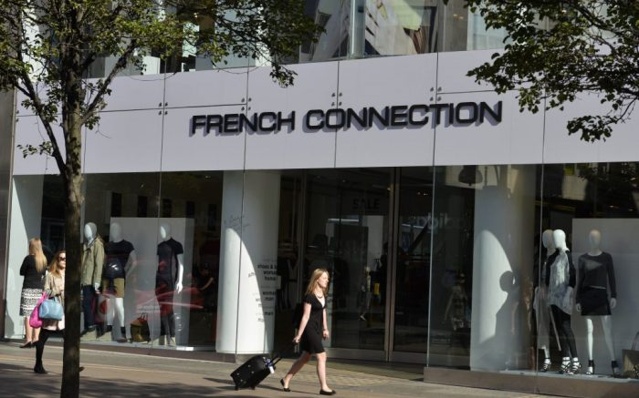 French Connection store Oxford Street, London, England, BritainLondon, Britain - Jul 2014