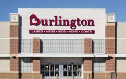 Burlington Coat Factory store exterior, Mt,
