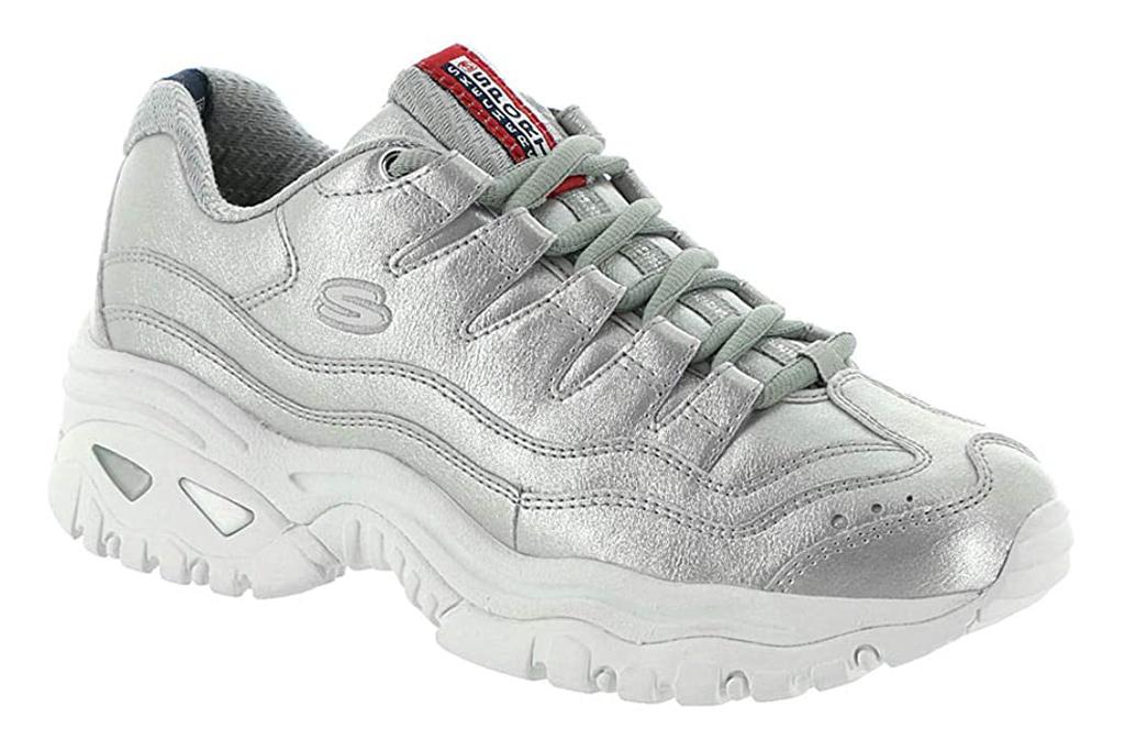 skechers, sneakers, chunky
