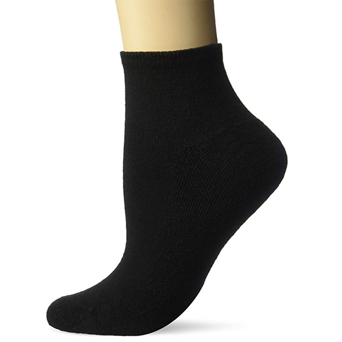 Hanes Women's Cool and Dry ComfortBlend Ankle Socks, socks for ugly sandals, ugly sandals trend