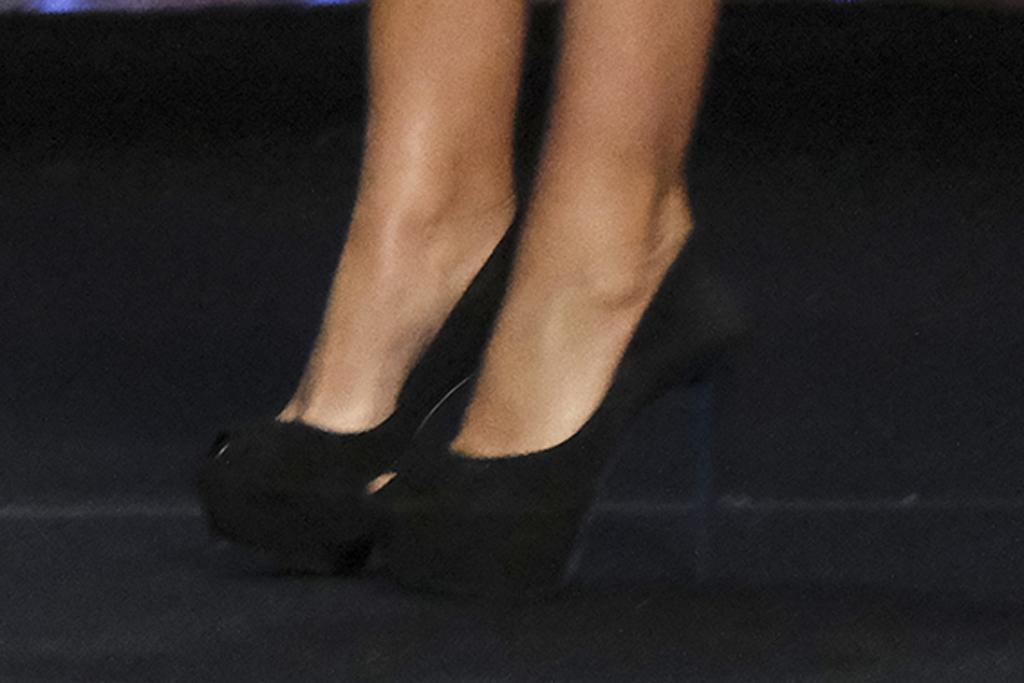 Sofia Vergara, celebrity style, shoes, 6-inch heels, platform pumps, agt, americas got talent