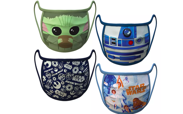 Disney face masks, star wars